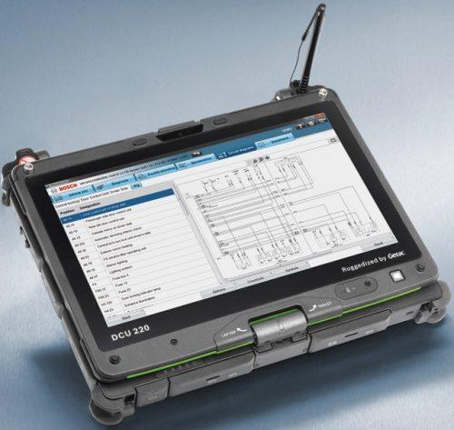 DCU 220 - Interfata touchcreen