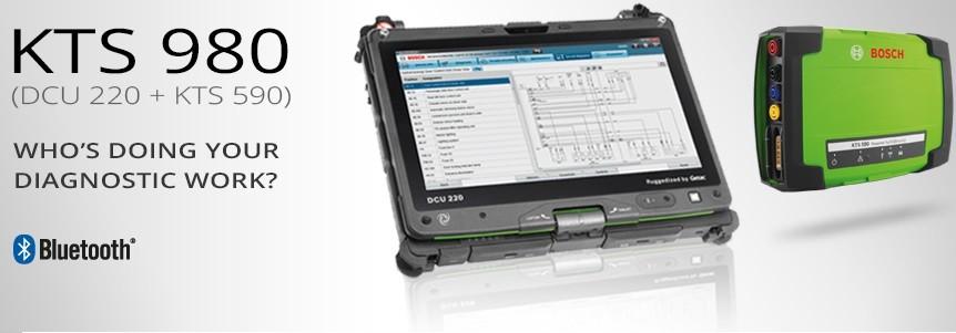 KTS 980 - Sistem complet pentru diagnoza
