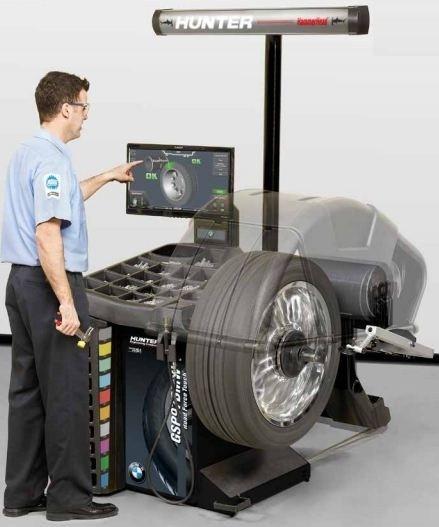 GSP 97BMW - Masina pentru echilibrarea si masurarea vibratiilor - omologat BMW