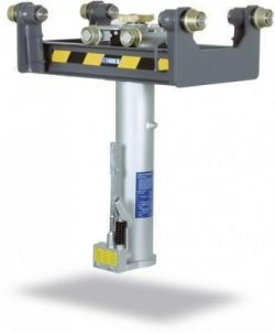 GHS10 - Cric de canal suspendat 10t, pneumatic + manual