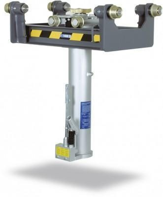GHSL10 - Cric de canal suspendat 10t, pneumatic + manual, cursa 800mm