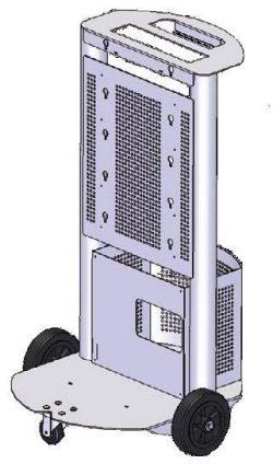 Carucior cu roti pentru combina AGS 688-OPA 100