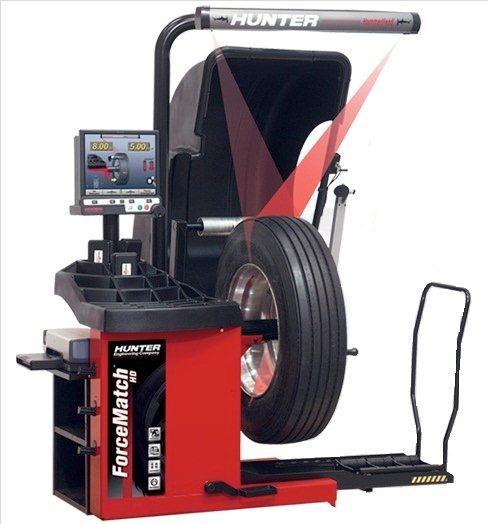 GSP 9600 HD - Masina pentru echilibrarea si masurarea vibratiilor pentru camioane
