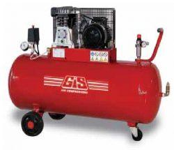 GS10/200 - Compresor de aer 306 l/min, rezervor 200 l, 10 bar