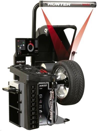 VAS 6230B-P-L - Aparat pentru masurarea vibratiilor rotilor in timpul simulariii rularii si echilibrarea rotilor