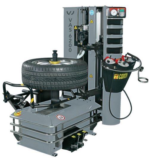 VAS 6200 A - Masina dejantat complet automata, fara levier cu LIFT ROATA integrat