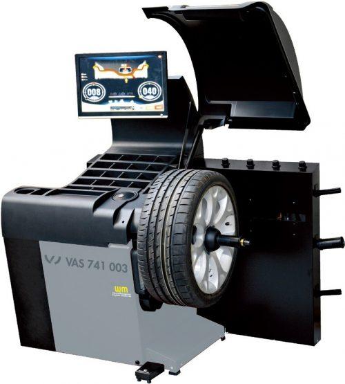 VAS 741 003 - Masina de echilibrat cu analiza VIDEO si cu diagnoza LASER