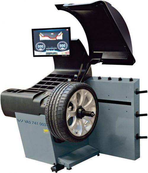 VAS 741 003 - Masina echilibrat Touchless - analiza profil pneu