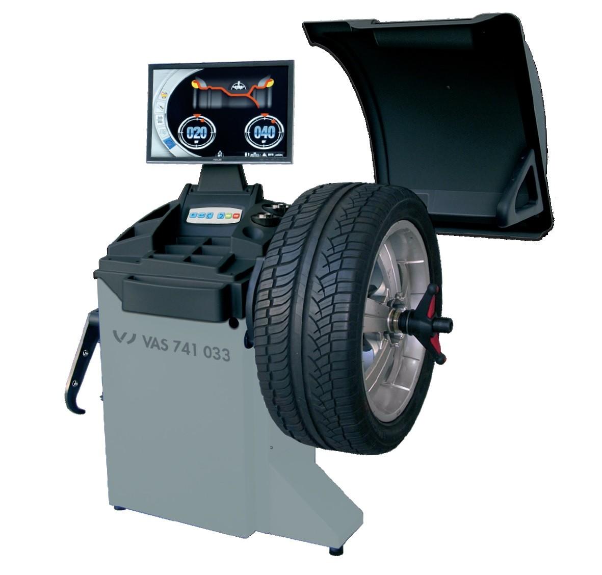VAS 741 033 - Masina de echilibrat electronica, cu monitor LCD