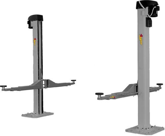 VAS 771 023 - Elevator electromecanic cu 2 coloane, capacitate de ridicare 5,5 tone