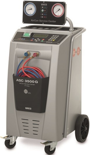 ASC 3500G Low Emission - Aparat service A/C, complet automat, R 134a