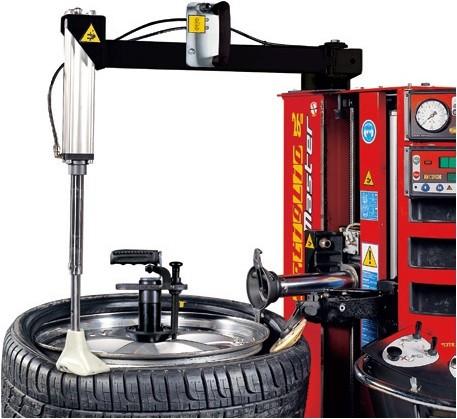 Pneumatic bead pressing tool