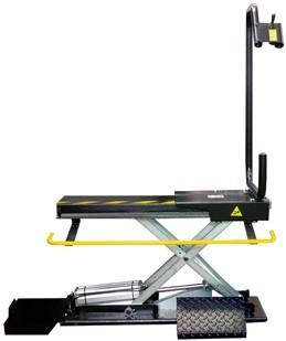 TT 80 - Lift pneumatic pentru masinile de echilibrat